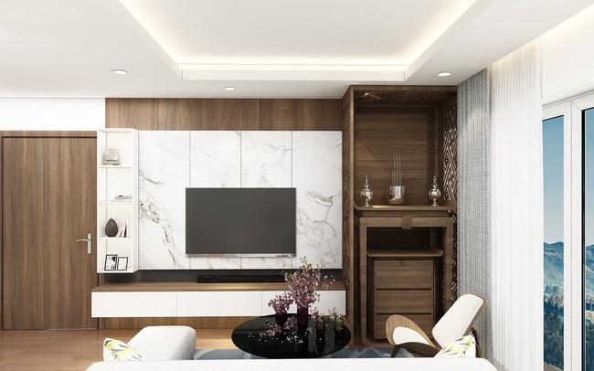 Tư vấn thiết kế căn hộ chung cư diện tích 47m2 đã ở được 5 năm cho cán bộ nhân viên nhà nước với chi phí 100 triệu đồng - Ảnh 9.