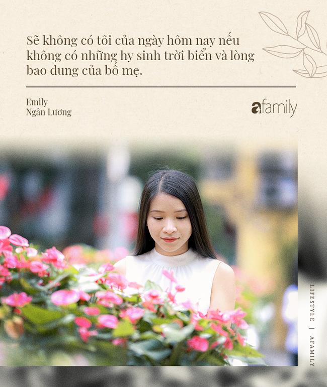 Emily Ngân Lương: Từ cô gái không được học mẫu giáo đến vị trí công dân toàn cầu được nhiều người kiêng nể - Ảnh 3.