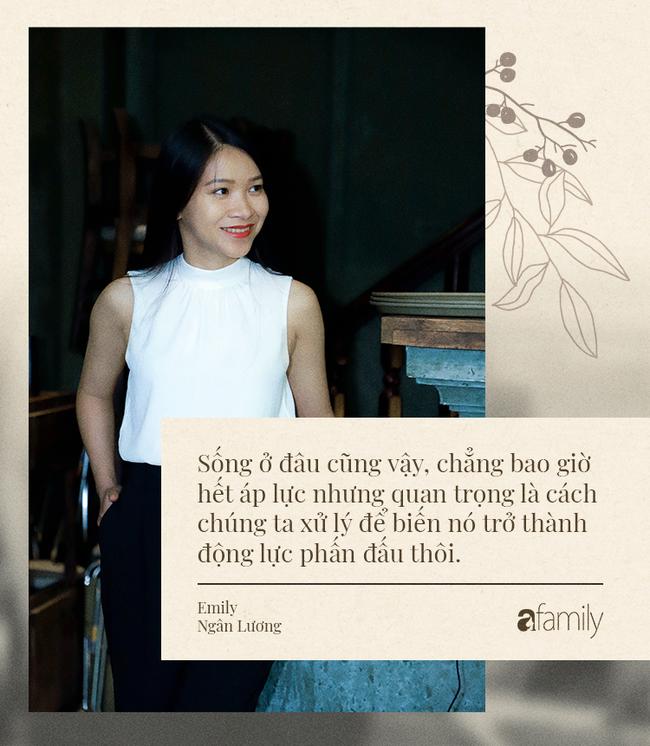 Emily Ngân Lương: Từ cô gái không được học mẫu giáo đến vị trí công dân toàn cầu được nhiều người kiêng nể - Ảnh 5.