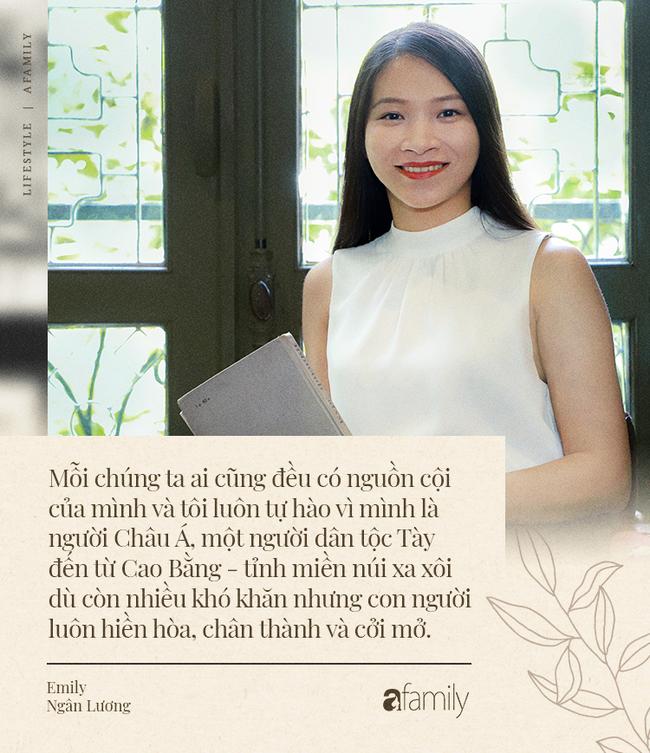 Emily Ngân Lương: Từ cô gái không được học mẫu giáo đến vị trí công dân toàn cầu được nhiều người kiêng nể - Ảnh 8.