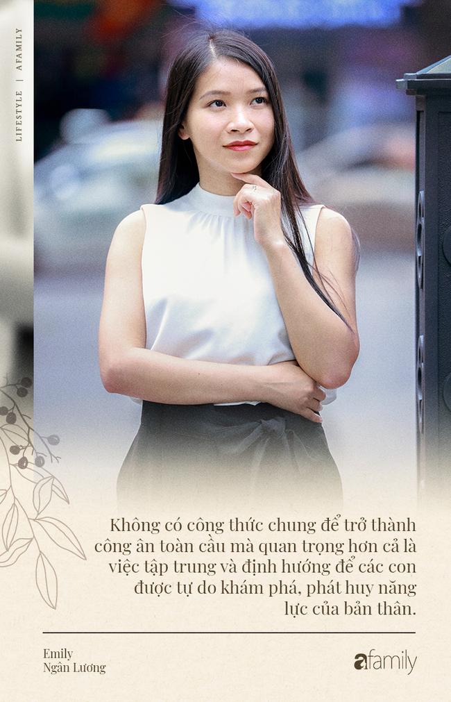 Emily Ngân Lương: Từ cô gái không được học mẫu giáo đến vị trí công dân toàn cầu được nhiều người kiêng nể - Ảnh 13.