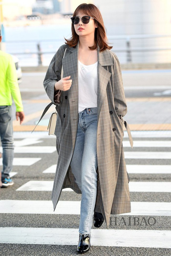 street style trench coat - Ảnh 13.