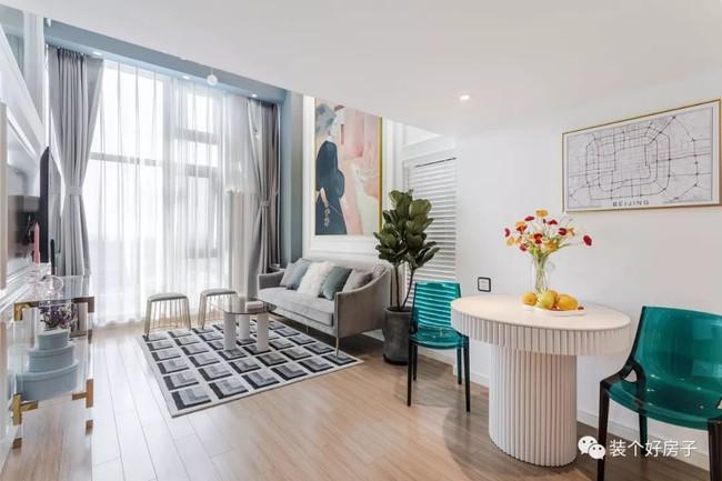 Ngôi nhà đẹp nhẹ nhàng tựa mây bay khi decor với gam màu pastel sau cải tạo của cặp vợ chồng trẻ - Ảnh 4.