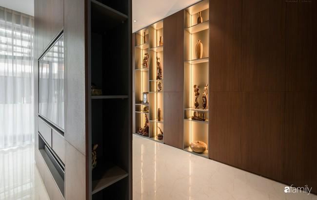 Ngôi nhà 100m2 thiết kế theo phong cách tối giản nhưng không lược bớt sự tiện nghi, sang trọng ở Quảng Ninh - Ảnh 4.