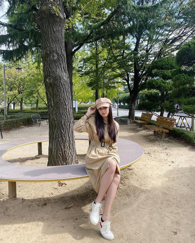Đáng chú ý không kém chuyện Tiểu Vy hẹn hò là style của cô: Ngày một sang chảnh, là nguồn cảm hứng tuyệt vời cho dân công sở - Ảnh 2.