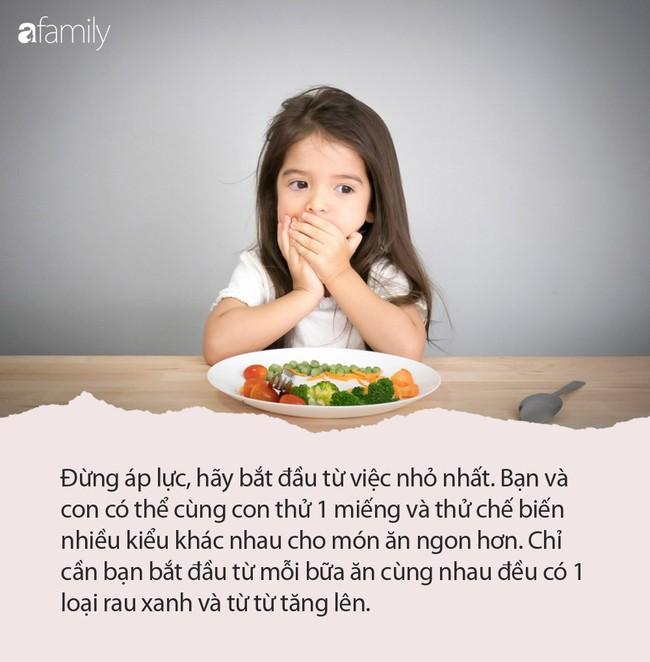 Bà mẹ trẻ chia sẻ tuyệt chiêu giúp con từ rất ghét ăn rau cho đến ăn ngoan thun thút - Ảnh 4.