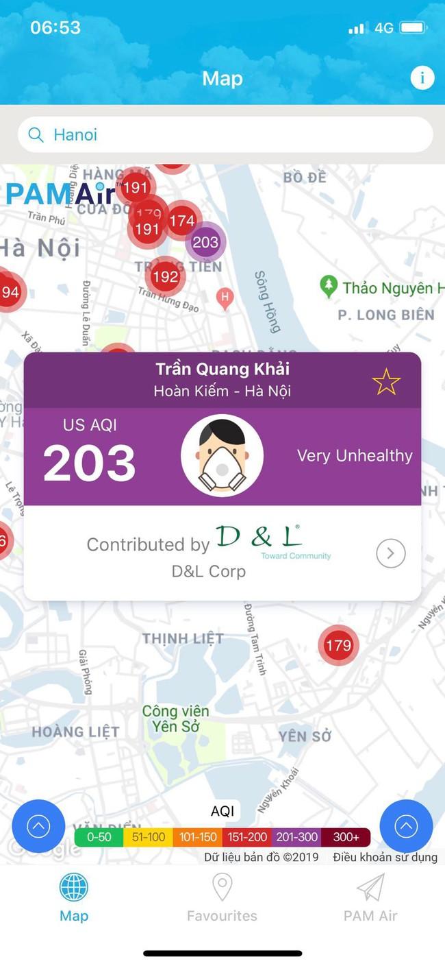 Sau 1 ngày mưa lớn, ô nhiễm ở Hà Nội lại ở mức báo động - Ảnh 1.