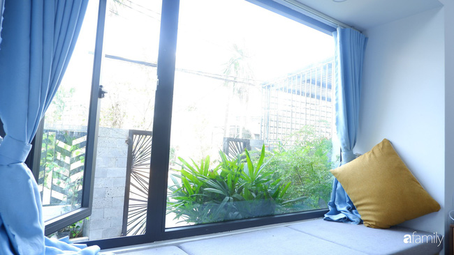 Căn nhà phố có khoảng thông tầng nhiều cây xanh và ánh sáng của chàng KTS trẻ dành tặng vợ mới cưới ở Đà Nẵng - Ảnh 6.
