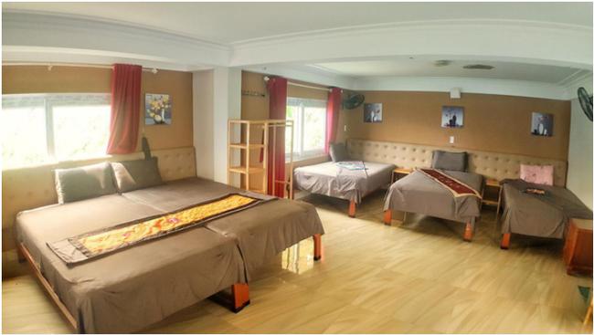 """Cận cảnh phòng nghỉ giá rẻ nhưng view """"hoàng gia"""" bên trong khách sạn 7 tầng đang gây tranh cãi ở đèo Mã Pì Lèng - Ảnh 6."""
