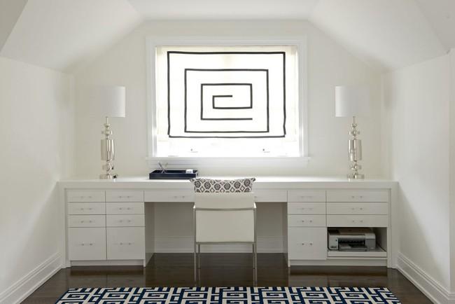 Các thiết kế phòng làm việc tại nhà dành riêng cho những ai theo lối sống tối giản - Ảnh 1.