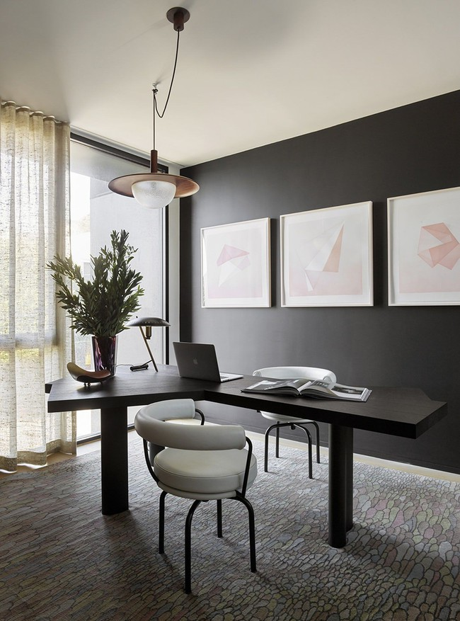 Các thiết kế phòng làm việc tại nhà dành riêng cho những ai theo lối sống tối giản - Ảnh 2.