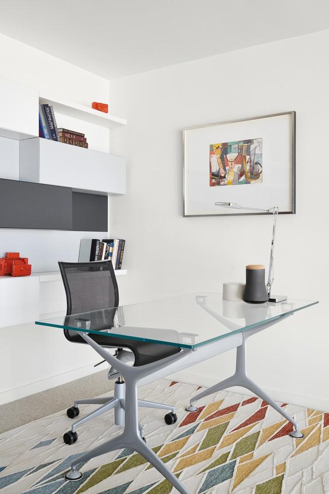 Các thiết kế phòng làm việc tại nhà dành riêng cho những ai theo lối sống tối giản - Ảnh 3.