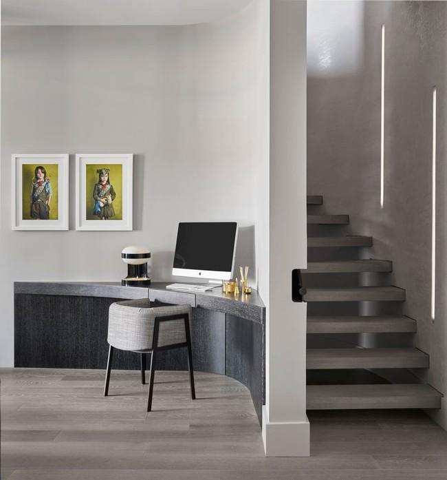 Các thiết kế phòng làm việc tại nhà dành riêng cho những ai theo lối sống tối giản - Ảnh 6.