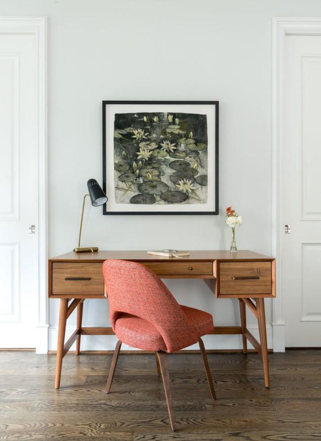 Các thiết kế phòng làm việc tại nhà dành riêng cho những ai theo lối sống tối giản - Ảnh 7.