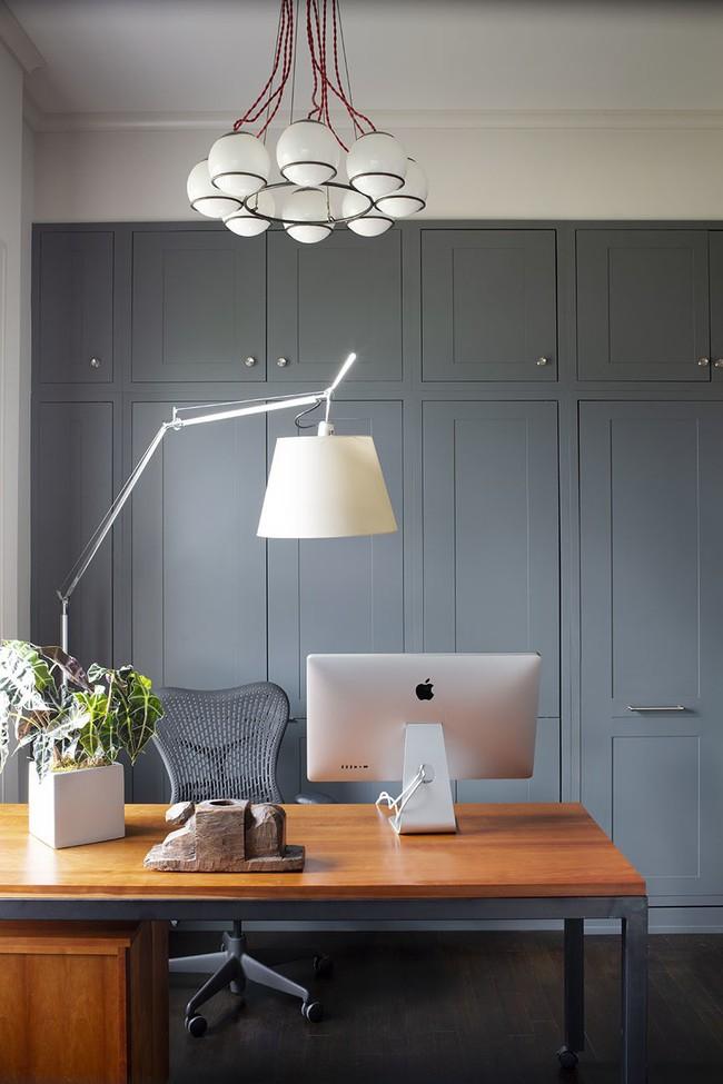 Các thiết kế phòng làm việc tại nhà dành riêng cho những ai theo lối sống tối giản - Ảnh 11.