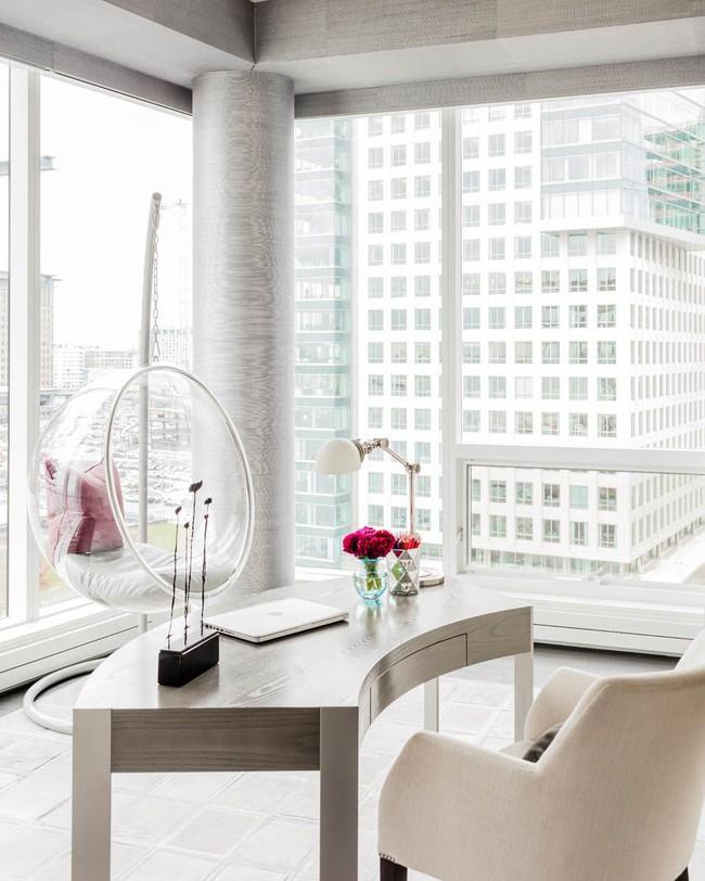 Các thiết kế phòng làm việc tại nhà dành riêng cho những ai theo lối sống tối giản - Ảnh 12.
