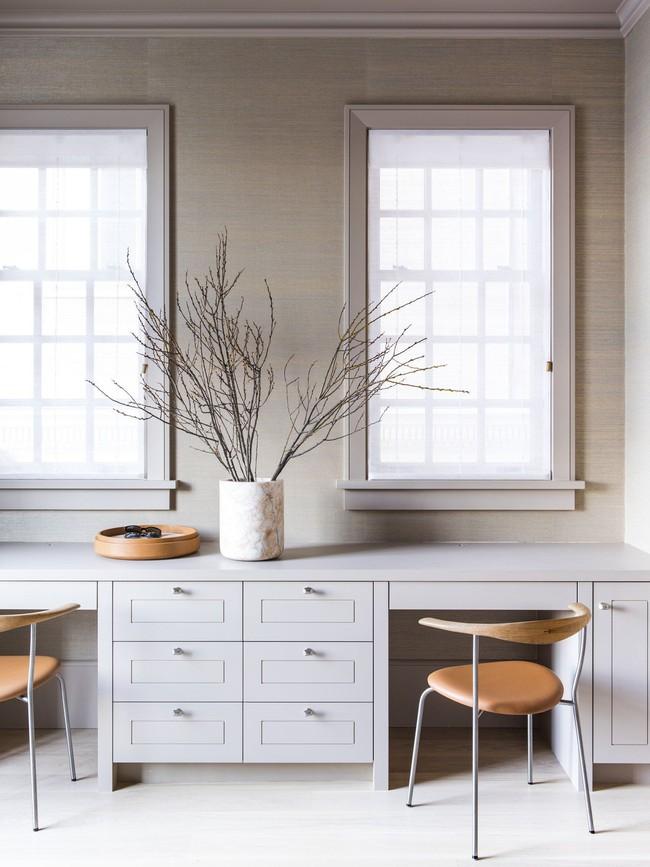 Các thiết kế phòng làm việc tại nhà dành riêng cho những ai theo lối sống tối giản - Ảnh 13.