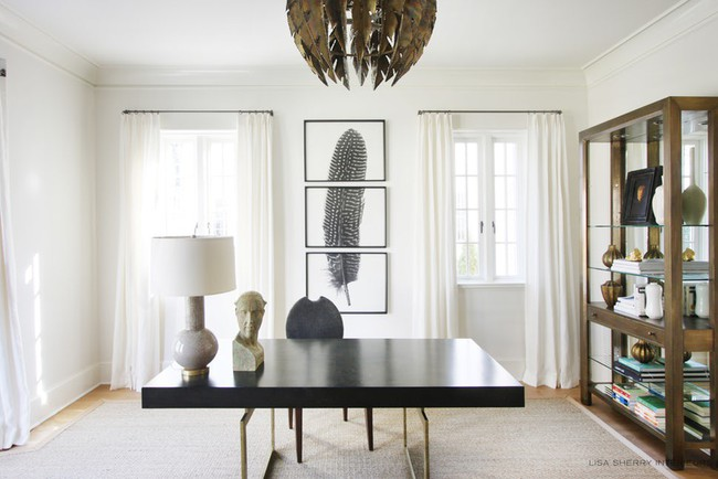 Các thiết kế phòng làm việc tại nhà dành riêng cho những ai theo lối sống tối giản - Ảnh 14.