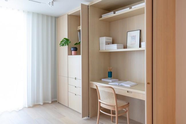 Các thiết kế phòng làm việc tại nhà dành riêng cho những ai theo lối sống tối giản - Ảnh 18.