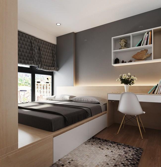 Tư vấn thiết kế nhà ở gia đình có diện tích (3.5x10m2) theo phong cách tối giản với chi phí hơn 900 triệu - Ảnh 11.