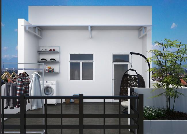 Tư vấn thiết kế nhà ở gia đình có diện tích (3.5x10m2) theo phong cách tối giản với chi phí hơn 900 triệu - Ảnh 14.