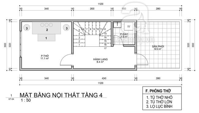 Tư vấn thiết kế nhà ở gia đình có diện tích (3.5x10m2) theo phong cách tối giản với chi phí hơn 900 triệu - Ảnh 4.