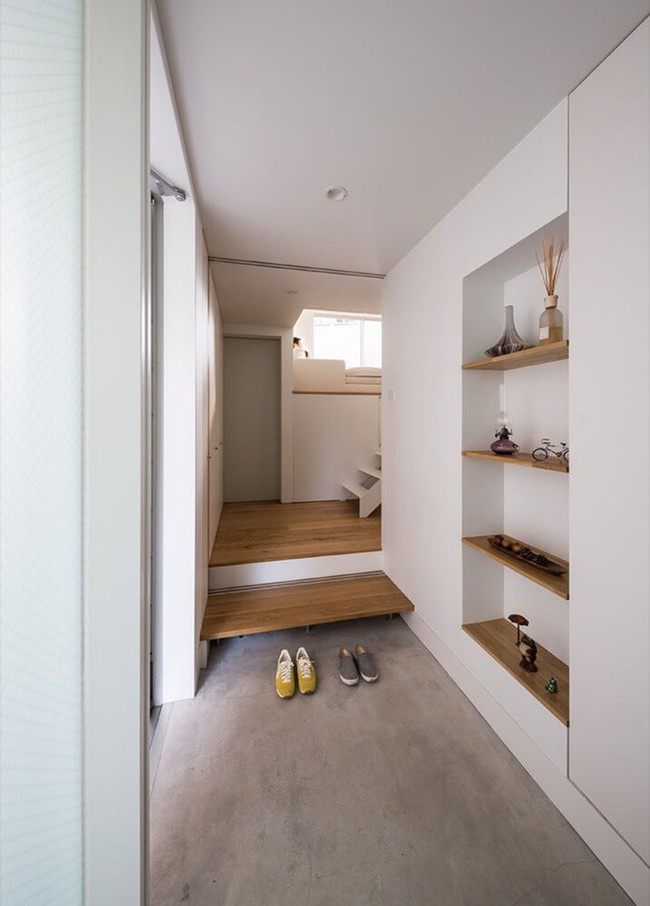 Ngôi nhà độc đáo gắn liền với thiên nhiên dù vị trí nằm ngay trong phố lớn ở Nhật Bản - Ảnh 5.
