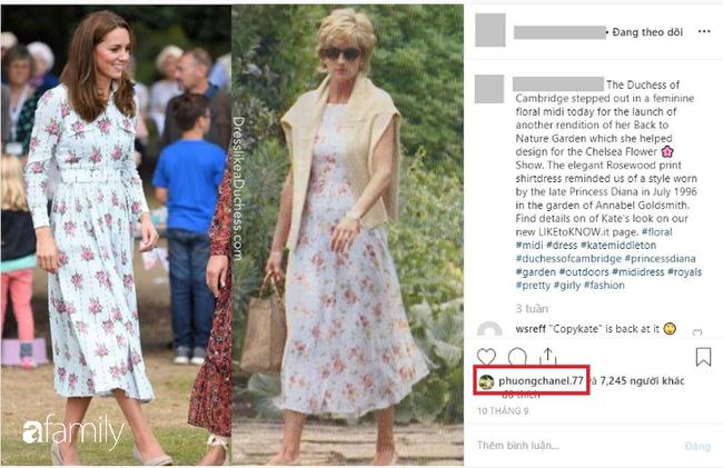 """Lộ bằng chứng Phượng Chanel đang học theo style của công nương Diana và Kate Middleton, dân tình mau vào """"hiến kế"""" ngay! - Ảnh 3."""