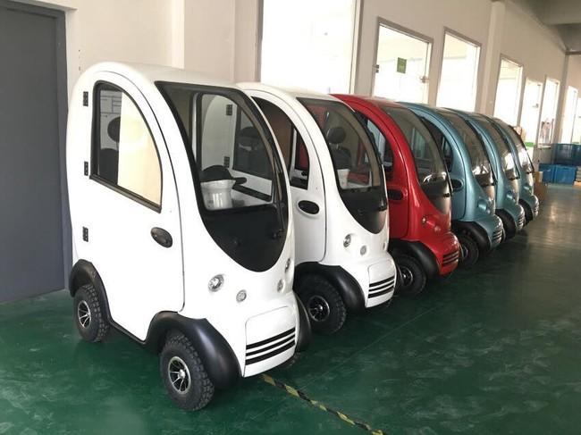 Chiêm ngưỡng 3 mẫu xe ô tô điện mini siêu hot trong thời điểm này, cái đắt nhất cũng chỉ 100 triệu đồng - Ảnh 12.