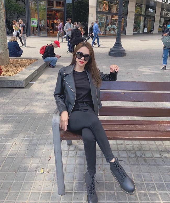 """Diện toàn quần jeans là quần jeans, mà sao style của Hương Giang vẫn thú vị và """"ăn chơi"""" đến thế! - Ảnh 11."""