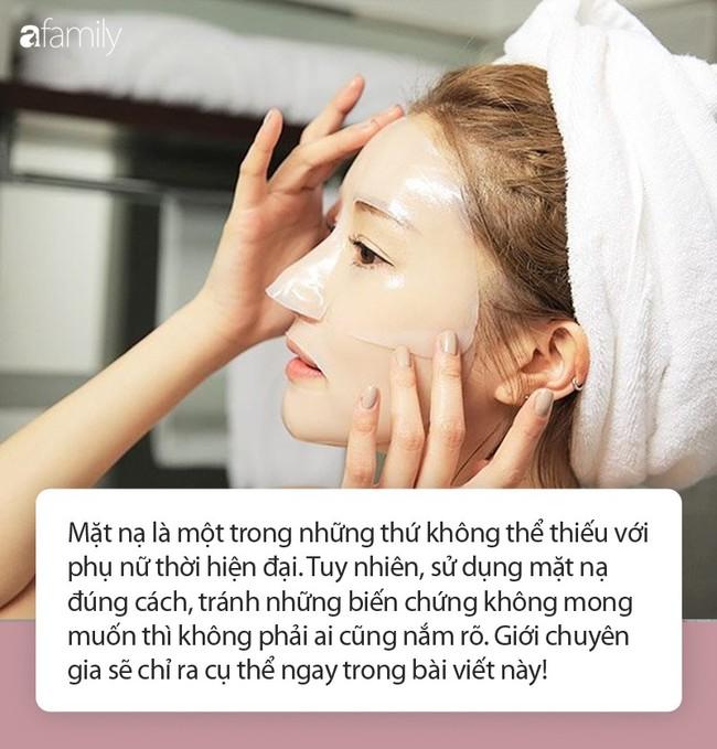 Mỹ nữ xứ Hàn bị bỏng rát mặt chỉ vì một lần đắp mặt nạ qua đêm: Lời cảnh báo thói quen làm đẹp chị em cần chấn chỉnh! - Ảnh 2.
