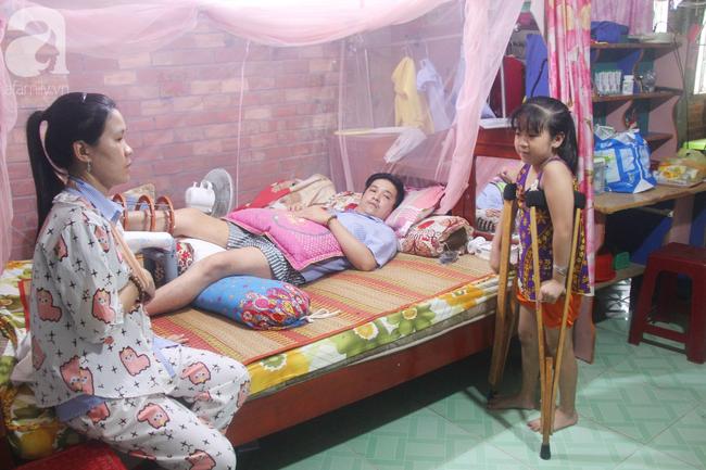Con gái 7 tuổi bị gãy chân, chồng nằm liệt giường, người vợ bệnh tật khẩu cầu sự giúp đỡ sau vụ tai nạn kinh hoàng - Ảnh 18.