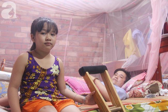 Con gái 7 tuổi bị gãy chân, chồng nằm liệt giường, người vợ bệnh tật khẩu cầu sự giúp đỡ sau vụ tai nạn kinh hoàng - Ảnh 13.