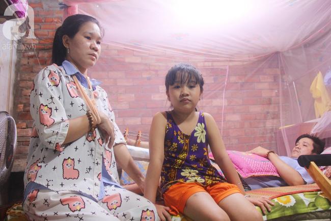 Con gái 7 tuổi bị gãy chân, chồng nằm liệt giường, người vợ bệnh tật khẩu cầu sự giúp đỡ sau vụ tai nạn kinh hoàng - Ảnh 12.