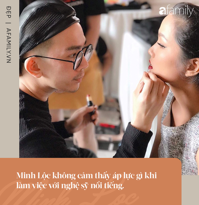 Chuyên gia trang điểm Minh Lộc: Cầm cọ từ năm 17 tuổi và là người đứng sau nhiều khoảnh khắc tỏa sáng của sao nữ  - Ảnh 6.