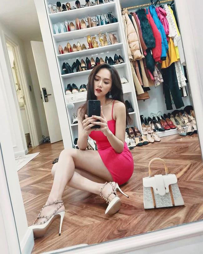 Khoe tủ hàng hiệu cả tỷ bạc nhưng chi tiết này mới khiến Hương Giang được chú ý nhất - Ảnh 2.