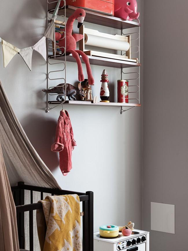 Căn hộ rộng 75m2 được trang trí với sắc màu tươi vui, mát mắt quá đỗi phù hợp cho nhà có trẻ nhỏ - Ảnh 11.