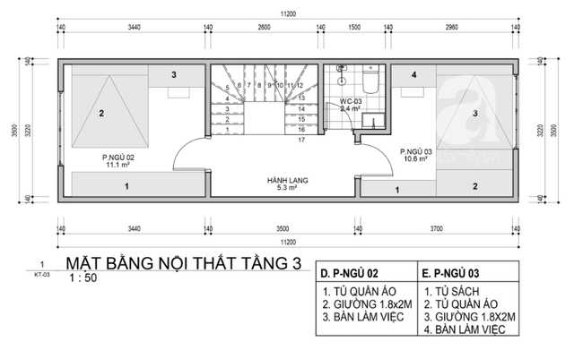 Tư vấn thiết kế nhà ở gia đình có diện tích (3.5x10m2) theo phong cách tối giản với chi phí hơn 900 triệu - Ảnh 3.