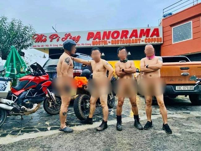 """Phản đối nhóm đàn ông khỏa thân trên đèo Mã Pì Lèng, hội chị em """"tinh tế"""" share nhau cả núi ảnh soái ca 6 múi nude vì môi trường - Ảnh 1."""