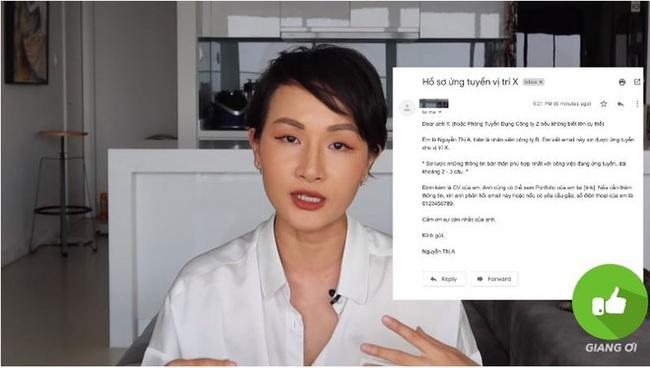 Vlogger Giang Ơi chỉ ra 6 lỗi sai phổ biến nhất khi viết CV xin việc, ai cũng nên xem để khỏi thất nghiệp dài dài - Ảnh 3.