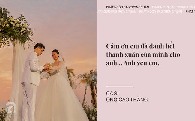 """Đông Nhi - Ông Cao Thắng chia sẻ xúc động khi trở thành vợ chồng; Trấn Thành tiếp tục """"khơi lại"""" chuyện tình cũ của bà xã Hari Won - Ảnh 2."""