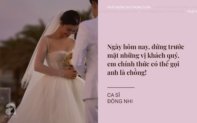 """Đông Nhi - Ông Cao Thắng chia sẻ xúc động khi trở thành vợ chồng; Trấn Thành tiếp tục """"khơi lại"""" chuyện tình cũ của bà xã Hari Won - Ảnh 1."""