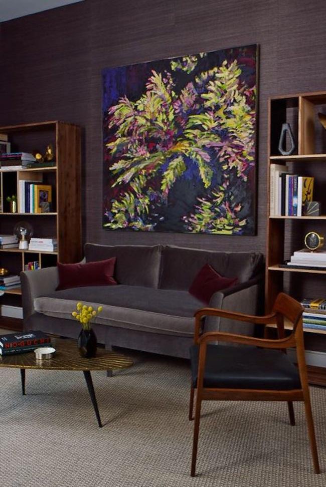 14 ý tưởng trang trí cho giá sách của bạn nổi bần bật trong không gian nhà ở - Ảnh 11.