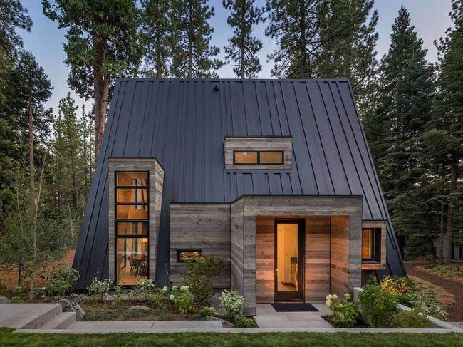 Ngôi nhà trong rừng đẹp như bước ra từ cổ tích cực thân thiện với không gian núi rừng - Ảnh 9.