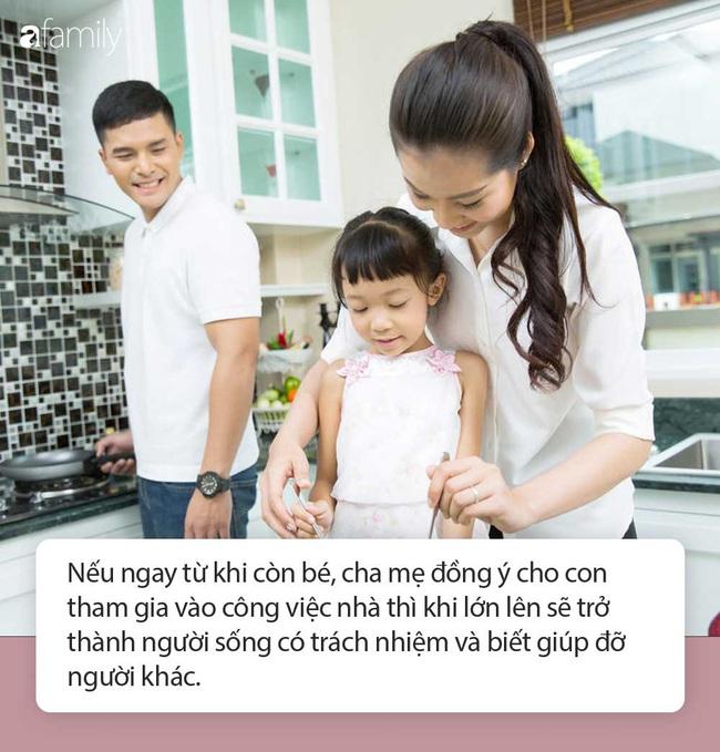 Không cho con làm việc nhà, cha mẹ đã tước đi cơ hội xây dựng nền móng để con trở thành người sống có trách nhiệm trong tương lai - Ảnh 2.