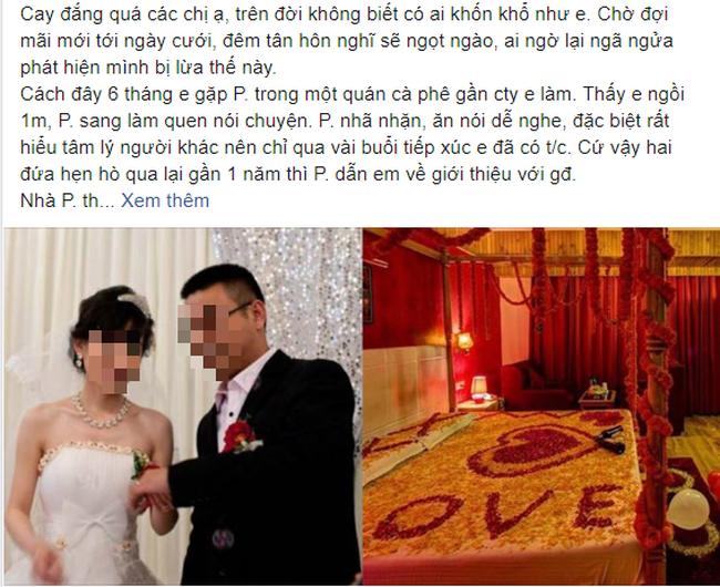 """Chú rể chi cả trăm triệu mua giường cưới dát vàng mà đêm tân hôn cô dâu vẫn cương quyết bỏ đi vì nghe câu: """"Sau hôm nay, mày muốn yêu ông yêu thằng gì cũng được"""" - Ảnh 1."""