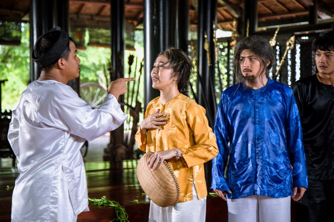 Diệu Nhi làm mẹ kế, cưa đổ Gin Tuấn Kiệt khi ca hát tỏ tình - Ảnh 7.