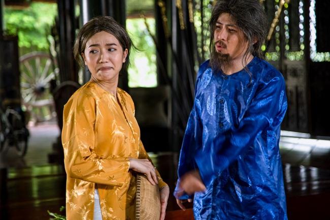Diệu Nhi làm mẹ kế, cưa đổ Gin Tuấn Kiệt khi ca hát tỏ tình - Ảnh 4.