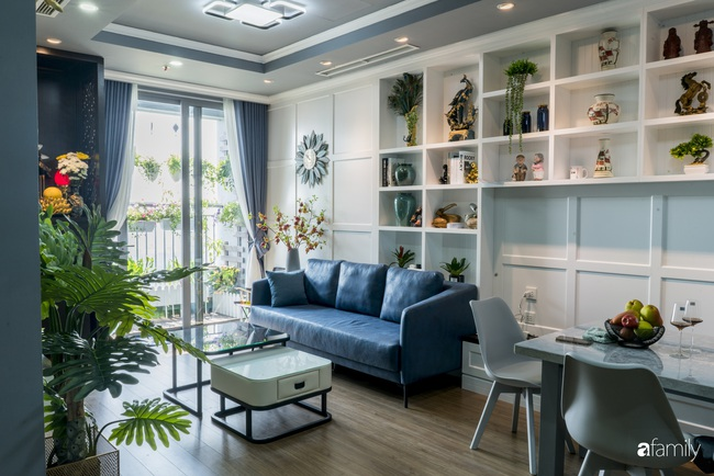 Căn hộ màu xanh với thiết kế đẳng cấp như không gian sang chảnh châu Âu trong lòng Hà Nội dành cho gia đình 3 thế hệ - Ảnh 7.