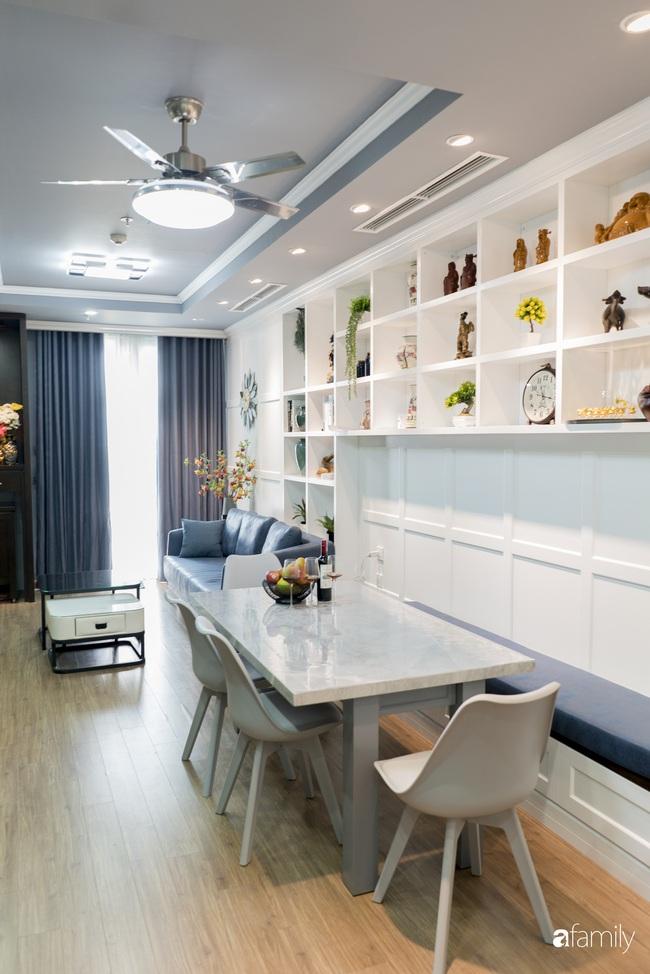 Căn hộ màu xanh với thiết kế đẳng cấp như không gian sang chảnh châu Âu trong lòng Hà Nội dành cho gia đình 3 thế hệ - Ảnh 4.